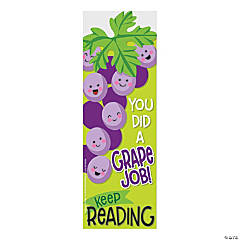 Grape-Scented Bookmarks