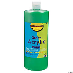 Green Acrylic Paint