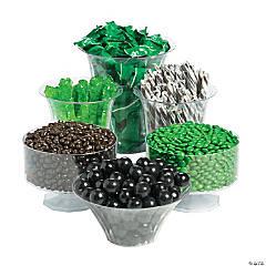 Green & Black Graduation Candy Buffet Assortment