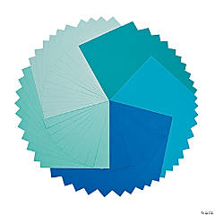 Green & Blue Super 50 Paper Pack