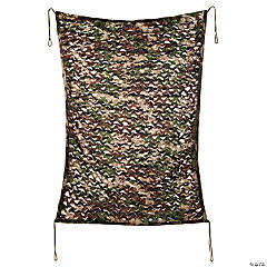 Green & Brown Camouflage PVC Curtain