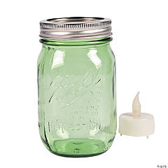Green Ball® Mason Jars