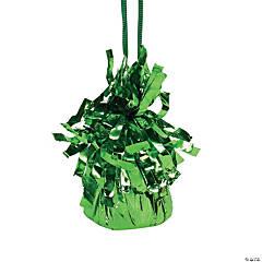 Green Balloon Weights