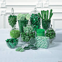 Green Candy Buffet Supplies