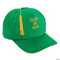 Green Class of 2014 Graduation Baseball Cap