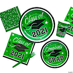 Green Class of 2016 Graduation Party Supplies
