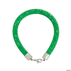 Green Crinoline Bracelet Craft Kit