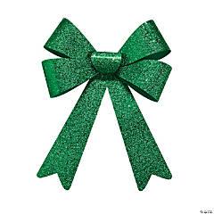 Green Glitter Bows