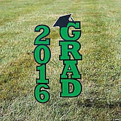 2016 Green Grad Yard Sign