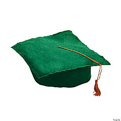 Green Graduation Caps