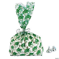 Green Graduation Cellophane Bags