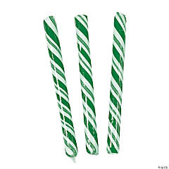 Green Hard Candy Sticks