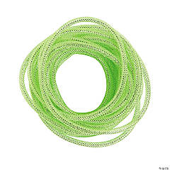 Green Mesh Tube Ribbon