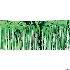 Green Metallic Fringe