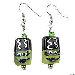 Green Monster Bride Earring Craft Kit