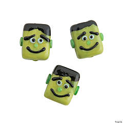 Green Monster Halloween Beads