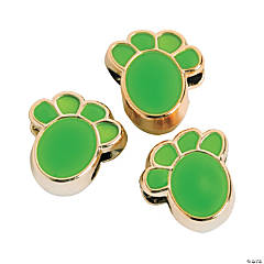 Green Paw Beads-13mm