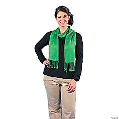 Green Personalized Scarf