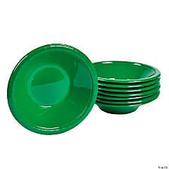 Green Plastic Bowls
