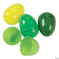 Green Plastic Easter Eggs