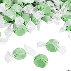 Green Salt Water Taffy Candy