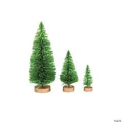 Green Sisal Trees Assortment
