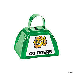 Green Team Spirit Custom Photo Cowbells