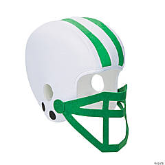 Green Team Spirit Football Helmet