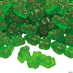 Green Teddy Bears Gummy Candy