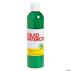 Green Washable Liquid Watercolor Paint