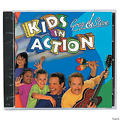 Greg & Steve: Kids in Action CD