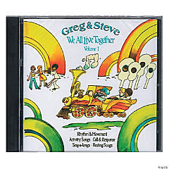 Greg & Steve: We All Live Together Vol. 1 CD