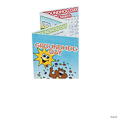 Groundhog Day Fold-Up Activity Sheets