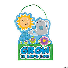 Grow in God's Love Sign Craft Kit