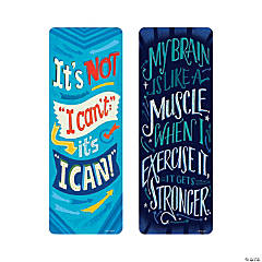 Growth Mindset Motivational Bookmarks