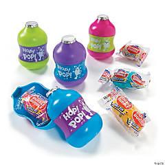 Gum-Filled Hop & Pop Plastic Easter Eggs