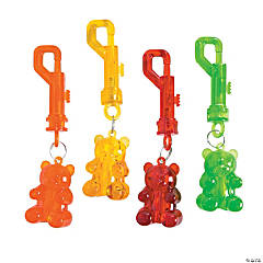 Gummy Bear Key Chain Clips