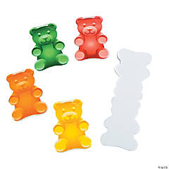Gummy Bear-Shaped Notepads