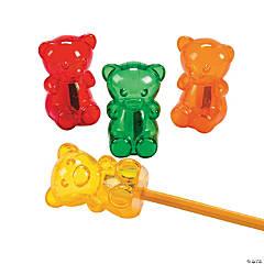 Gummy Teddy Bear Pencil Sharpeners