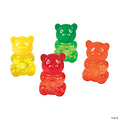 Gummy Teddy Bubble Bottles