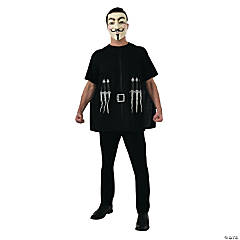 Guy Fawkes V For Vendetta Alternative Standard Adult Men's Costume