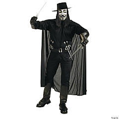 Guy Fawkes V For Vendetta Standard Adult Men's Costume