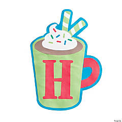 H is for Hot Cocoa Alphabet Craft Kit