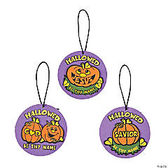Hallowed Pumpkin Ornament Craft Kit