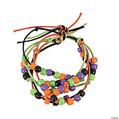 Halloween Beaded Bracelet Craft Kit