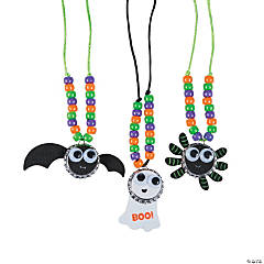 Halloween Bottle Cap Necklace Craft Kit