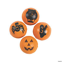 Halloween Bouncing Balls