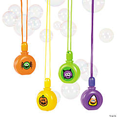 Halloween Bubble Bottle Necklaces