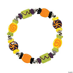 Halloween Candy Lampwork Bracelet Kit
