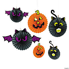Halloween Character Hanging Fans